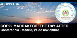 """COP22 Marrakech: """"The Day After"""""""