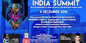 Blockchain India Summit - New Delhi 6 December 2016
