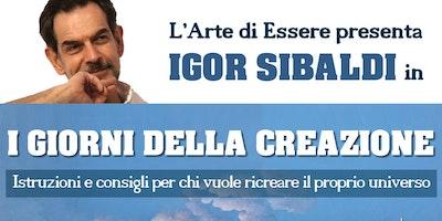 """""""I GIORNI DELLA CREAZIONE"""" - Igor Sibaldi"""