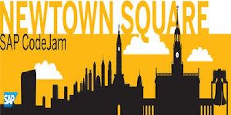 SAP CodeJam Newtown Square Logo