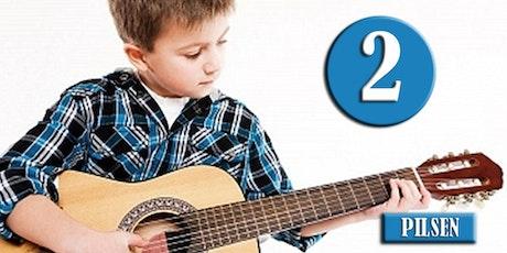 PILSEN: Clases de Guitarra (Nivel 2-INVIERNO) edades 9-14—Sábados 11am, Ene 7 - Mar 25, 2017 tickets