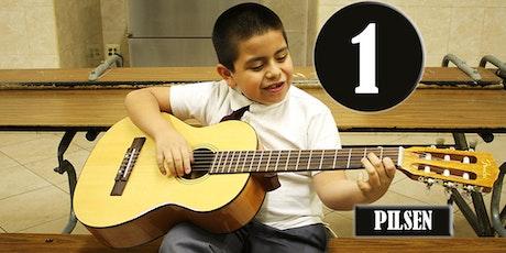 PILSEN: Clases de Guitarra (Nivel 1-INVIERNO) edades 9-14—Sábados 12pm, Ene 7 - Mar 25, 2017 tickets