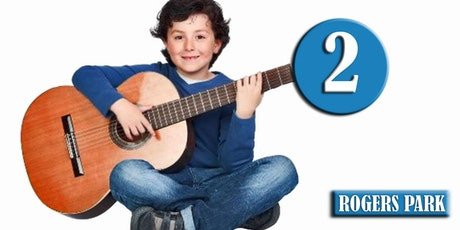 ROGERS PARK: Clases de Guitarra (Nivel 2-OTOÑO) edades 9-14—Sábados 4pm, Ene 7 - Mar 25, 2017 tickets