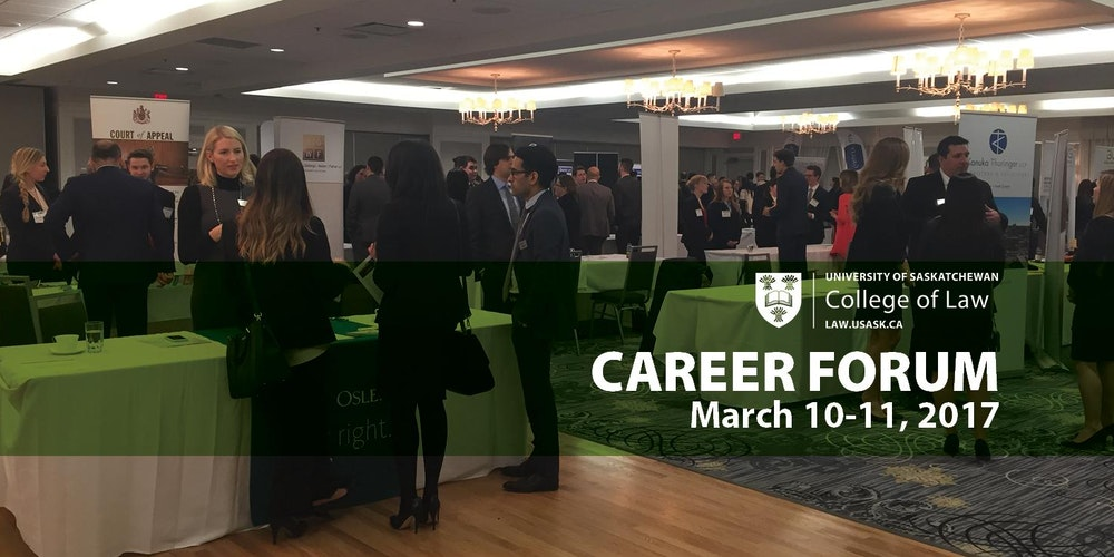 U Of S College Law Career Forum 2017 Firm Registration Tickets Sat 11 Mar At 130 PM