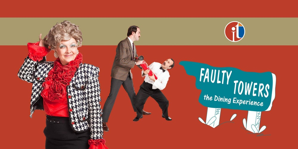 Adelaide  Australia Gala Events   Eventbrite Eventbrite Faulty Towers the Dining Experience tickets