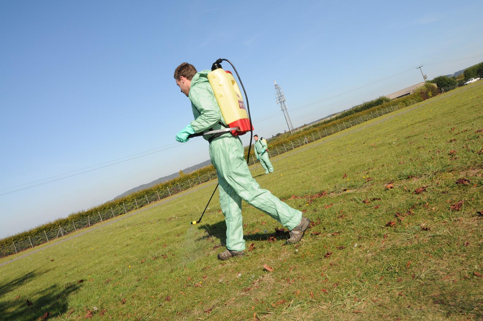 Pesticides Application, Hand Held or Knapsack
