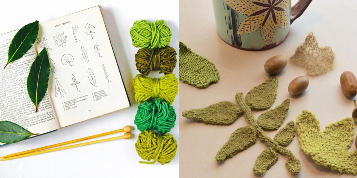 Flora - a creative knitting workshop with kni