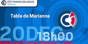 20.12.2016 - Table de Marianne - Palais du Gouverneur