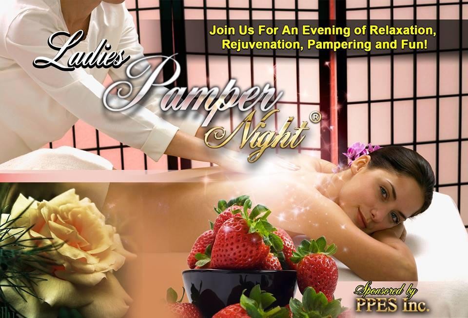 LADIES PAMPER NIGHT® WASHINGTON.  LADIES PAMPER NIGHT® WASHINGTON