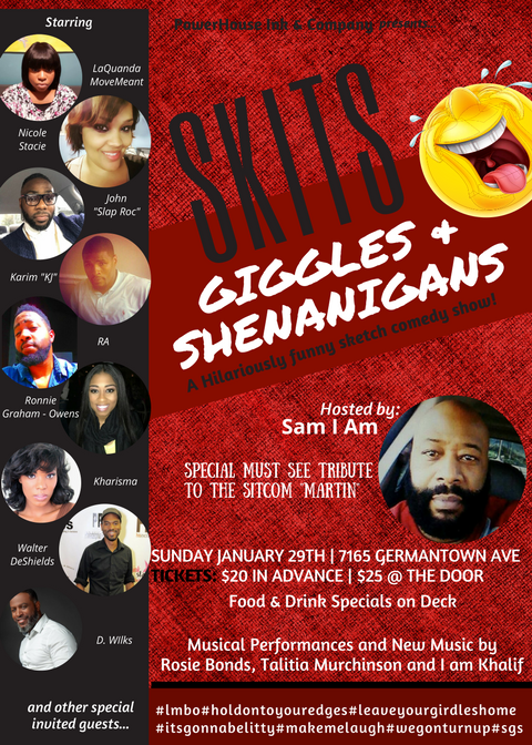 Skits, Giggles & Shenanigans