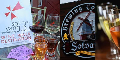 Solvang 3rd Wednesday Wine & Beer Walk