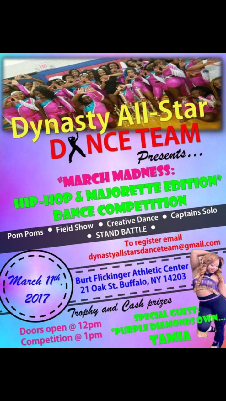 March Madness: Hip-Hop and Majorette Edition