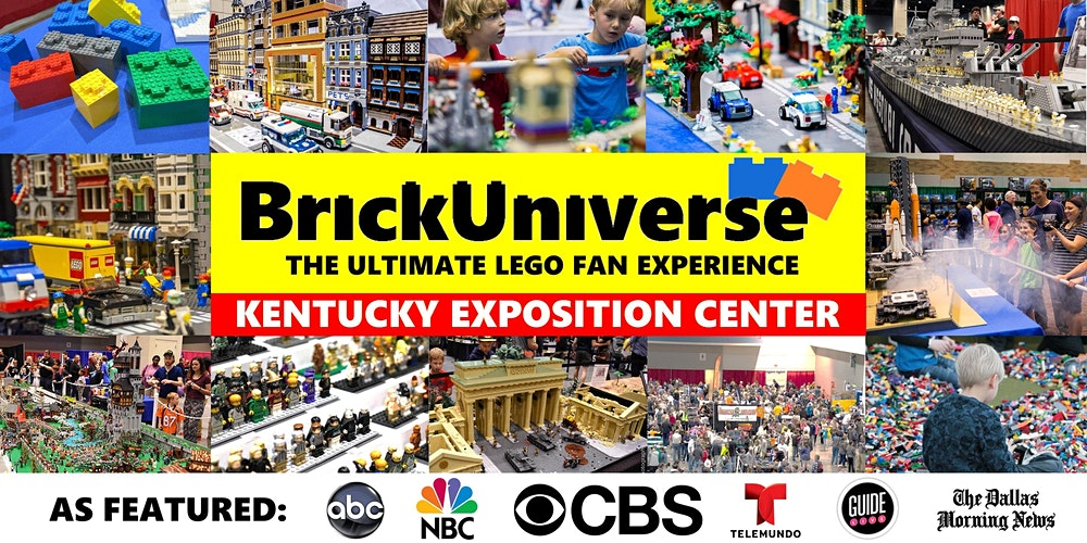 BrickUniverse Louisville LEGO Fan Convention