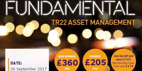 ilp tr22 managing a vital asset lighting supports course tickets cdn lighting