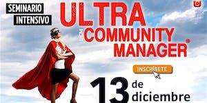 Ultra Community Manager - Seminario Intensivo -...