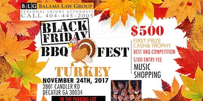 BLACK FRIDAY BBQ TURKEY FESTIVAL