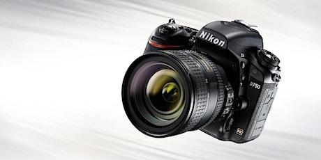 Introduction to Nikon DSLR & Mirrorless Cameras tickets
