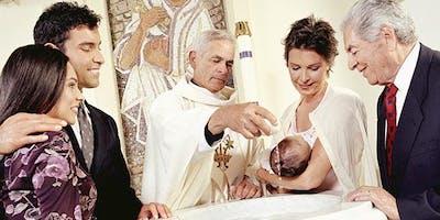CAPILLA SANTA CLARA Classes Bautismales: Padres y Padrinos