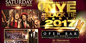 Denver New Year's Eve Black Tie Party 2017