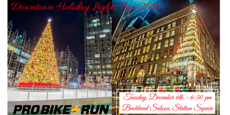 Holiday Lights Run in Pittsburgh with Pro Bike + Run tickets