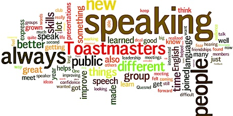 Toastmasters tickets