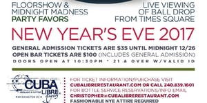 Destination: Cuba - New Year's Eve Party