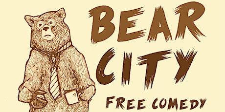 Bear City: Free Comedy & Free Pizza tickets