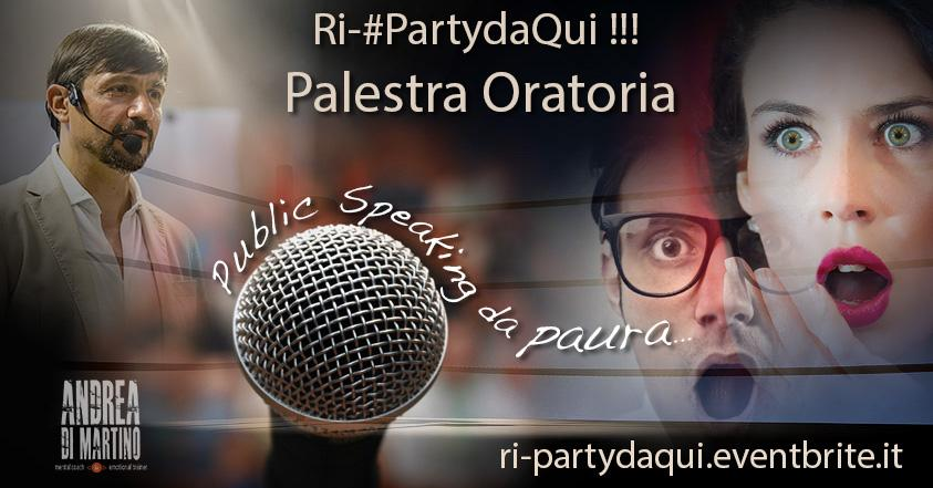 Ri-#PartydaQui !!!! La Prima Festa del Miglio
