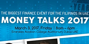 MONEY TALKS UAE 2017 CONFERENCE: The biggest Finance...