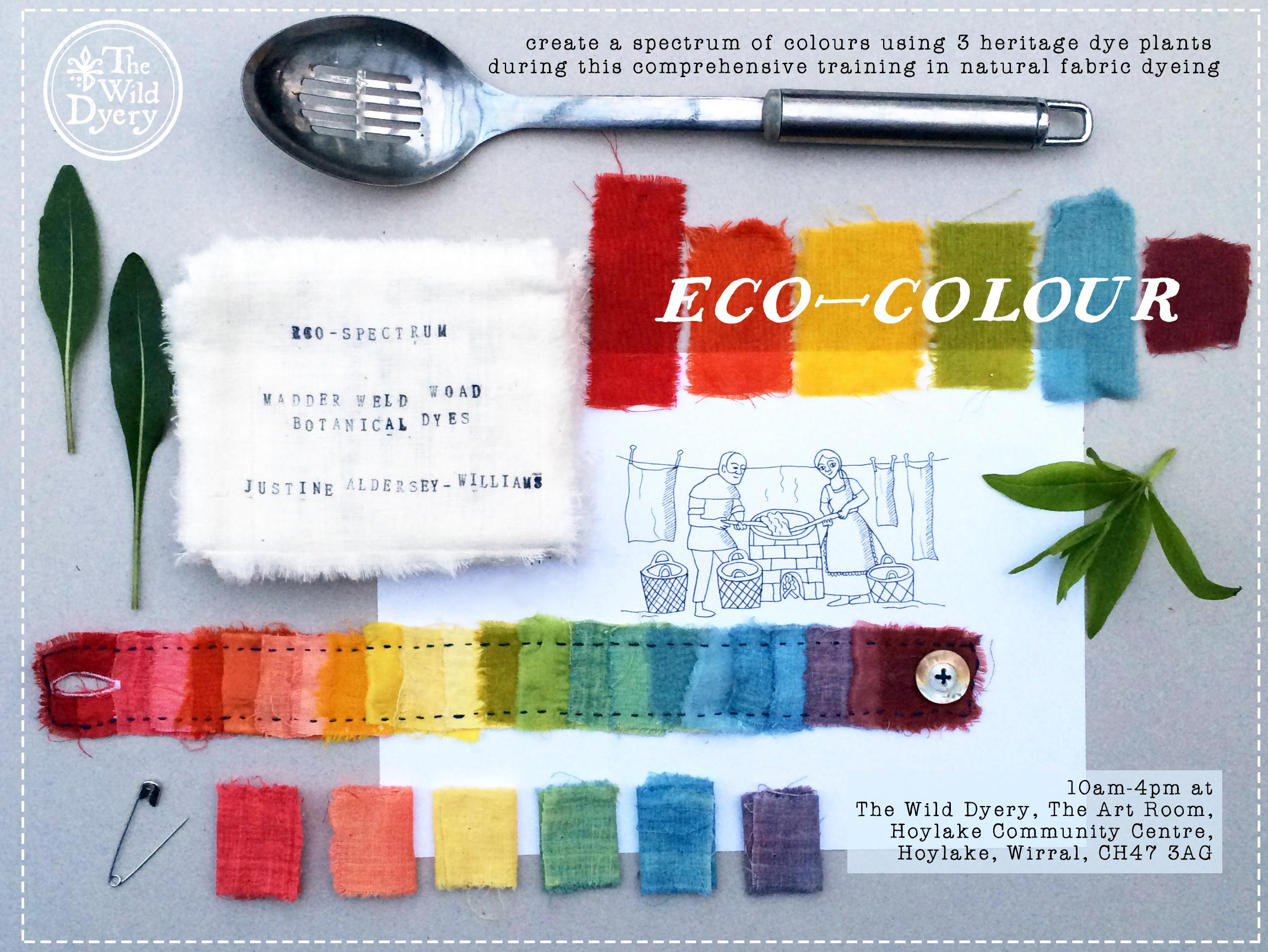 Eco-Colour (June 2017) - Natural Fabric Dyein
