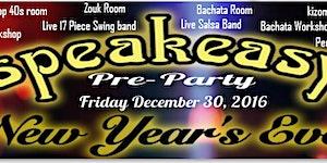 Pre New Year's Eve Speakeasy Party Atlanta Friday...