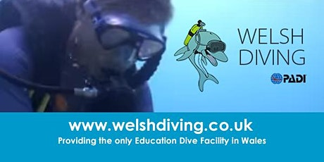 SCUBA DIVING - TRY DIVES (Newport - Bettws Active Living Centre ) tickets