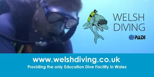 SCUBA DIVING - TRY DIVES (Newport - Bettws Active Living Centre )