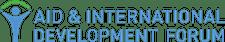 Aid and International Development Forum (AIDF) logo