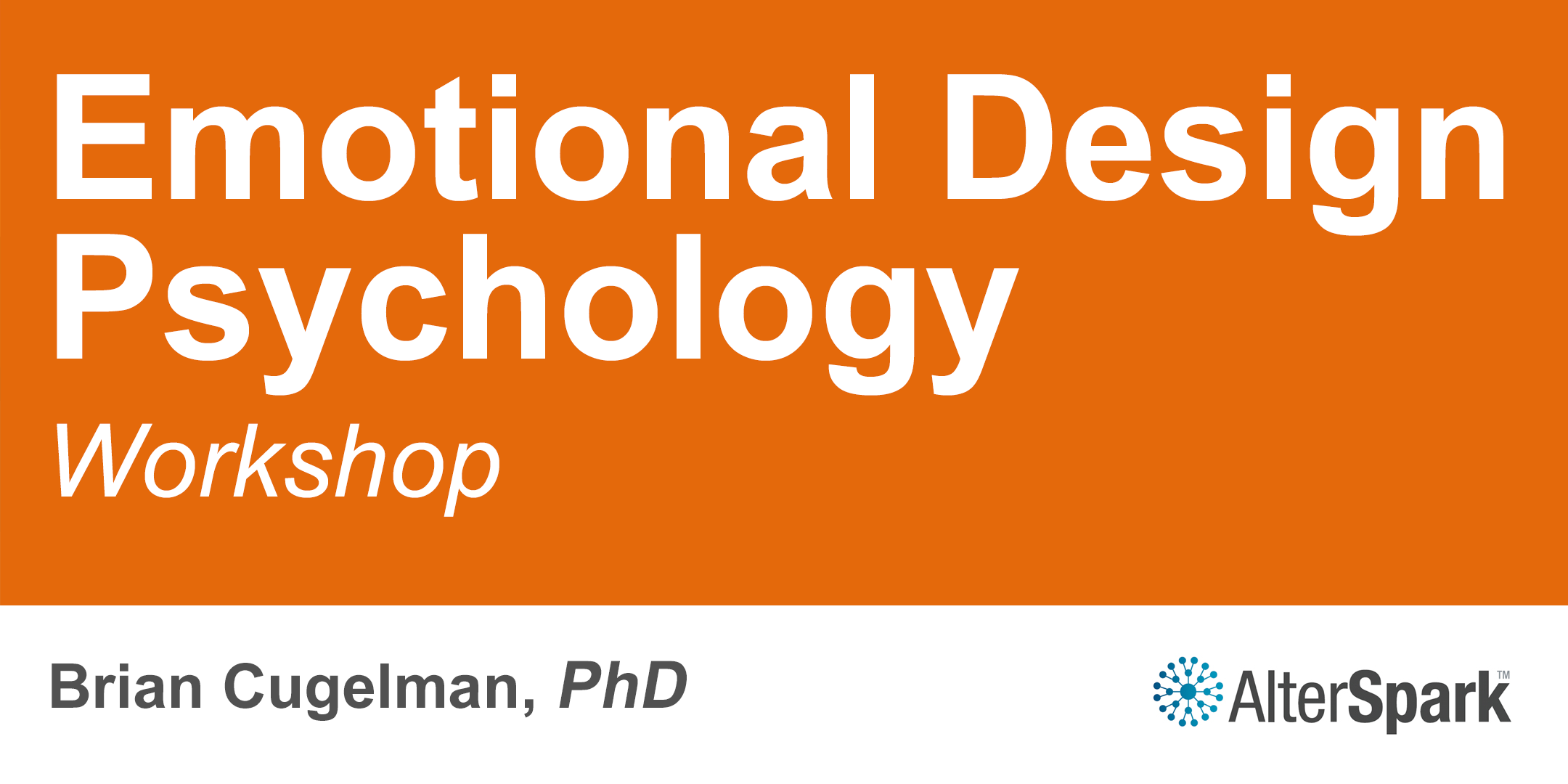 Emotional Design Psychology [E2] - Ottawa (2-
