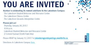 Lakeshore Campus Grand Openings