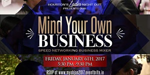 """Mind Your Own Business"" Speed Networking Business..."