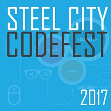 The Steel City Codefest logo