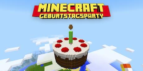 FabLabKids Kindergeburtstag Minecraft DCraft Geburtstagsparty - Minecraft spiele geburtstag