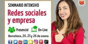 Seminario Redes Sociales y Empresa - Intensivo - 20ª...