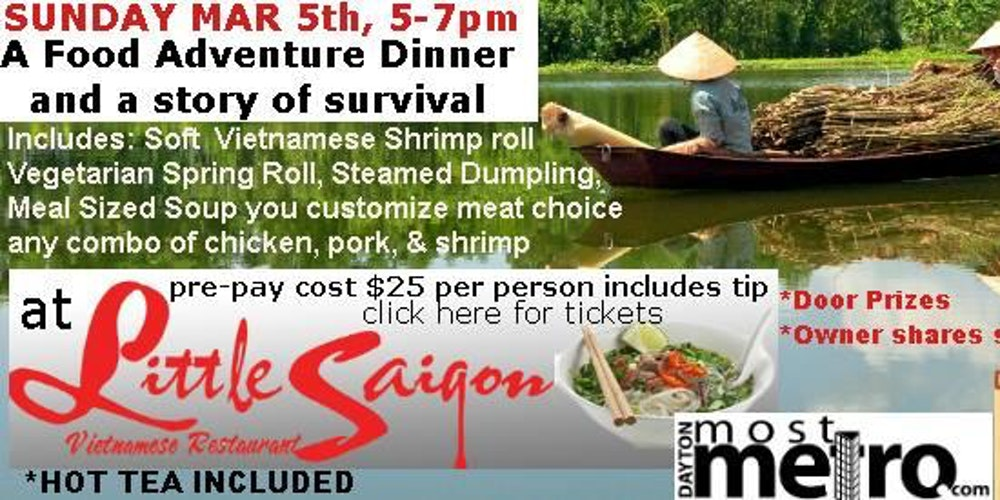 Little Saigon Vietnamese Restaurant Food Adventure