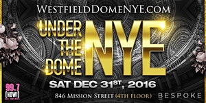 """Westfield Centre """"Under The Dome"""" NYE"""