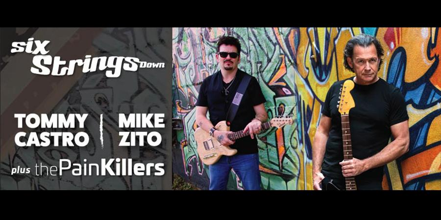 Tommy Castro and Mike Zito: Six Strings Down