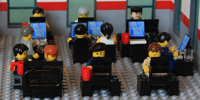 """Aperitivo in DaoCampus  """"Product envisioning efficace, usando i mattoncini LEGO® SERIOUS PLAY®"""""""