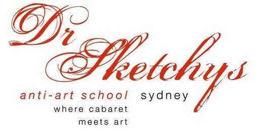 Dr Sketchys Sydney Anti-Art School 2019