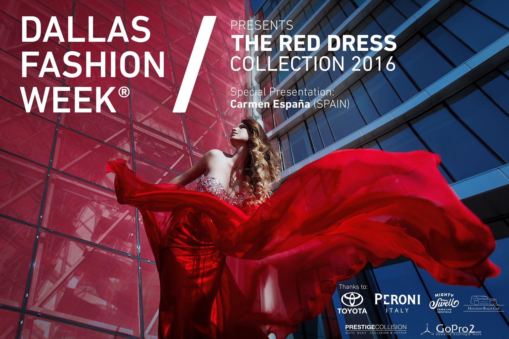 DALLAS FASHION WEEK®  Red Dress Collection Fashion Show 2017