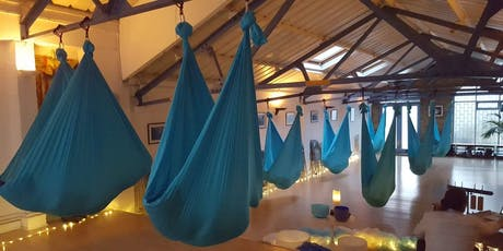 8:30-10pm Aerial Relaxation Pods… with live ambient music! tickets