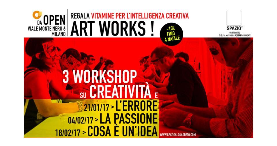 WORKSHOP CREATIVITA', L'ERRORE