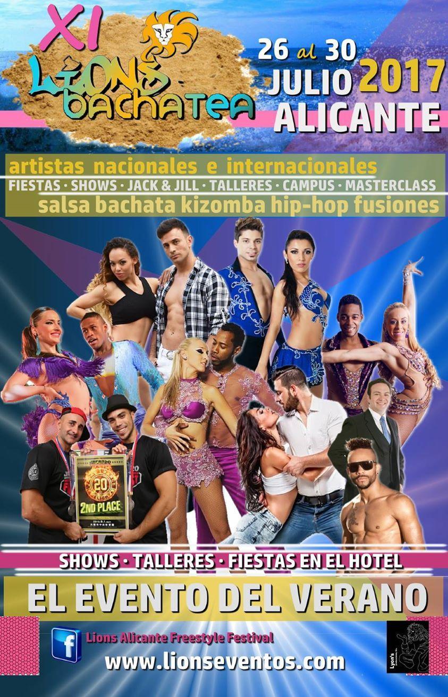 XI Lions Bachatea  - Summer Festival - I Lion