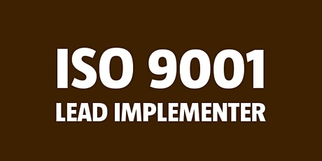 ISO 9001 Lead Implementer tickets